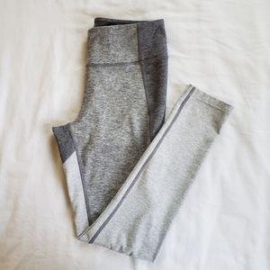 OUTDOOR VOICES Gray Colorblock Leggings